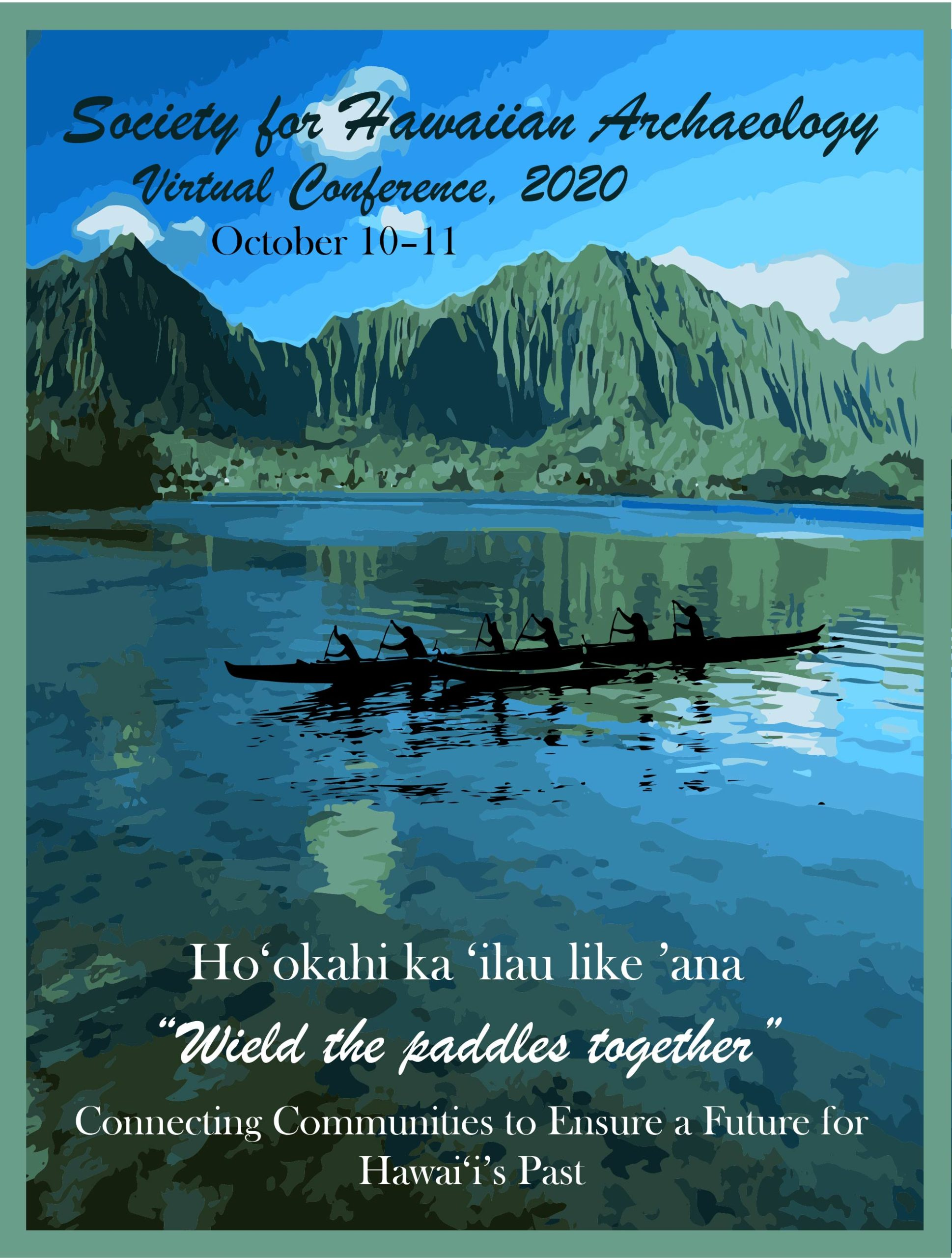 Poster for the SHA 2020 Conference